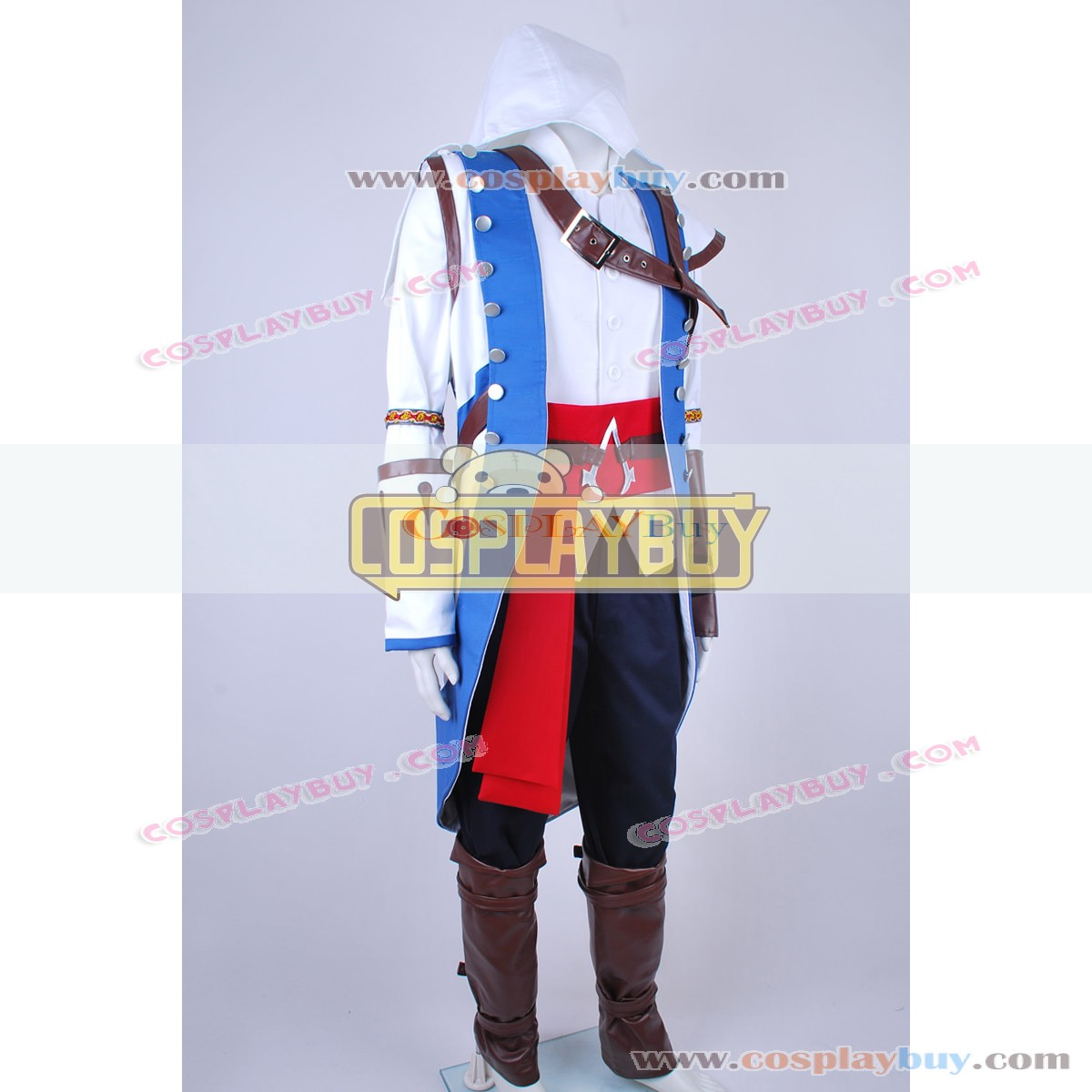 Assassins Creed Iii Connor Ratonhnhake Ton Outfits Cosplay Costume