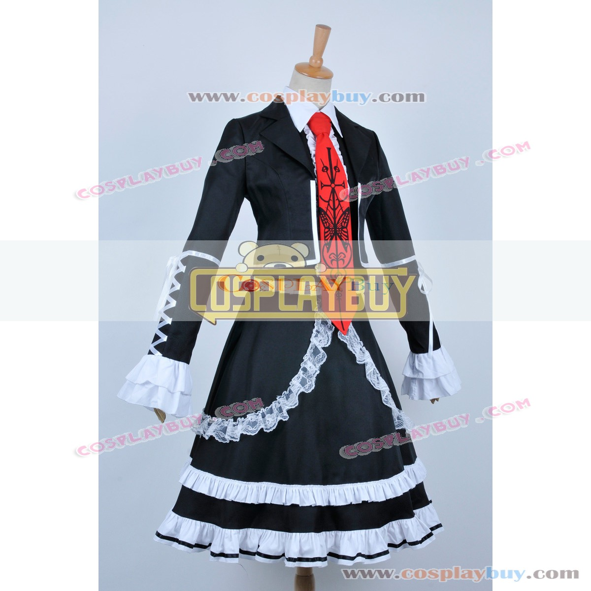 Dangan Ronpa Danganronpa Celestia Ludenberg Dress Cosplay Costume