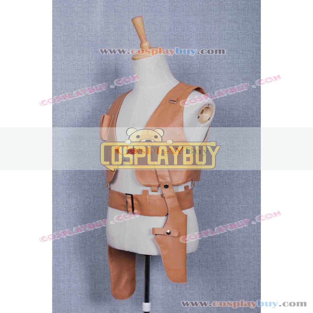 Leon The Professional Cosplay Costume Leon Leather Vest