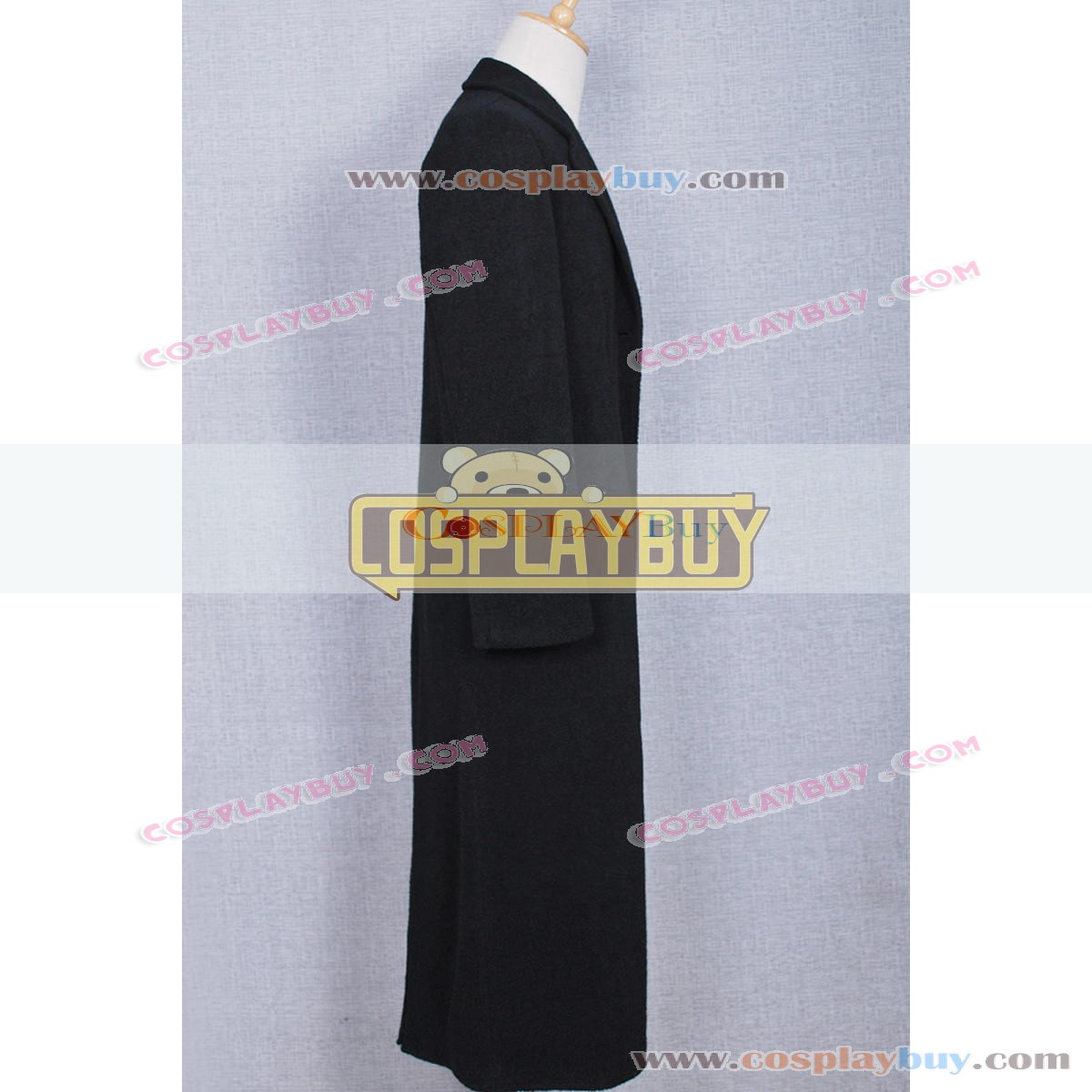 Leon The Professional Leon Cosplay Costume Black Trench Coat