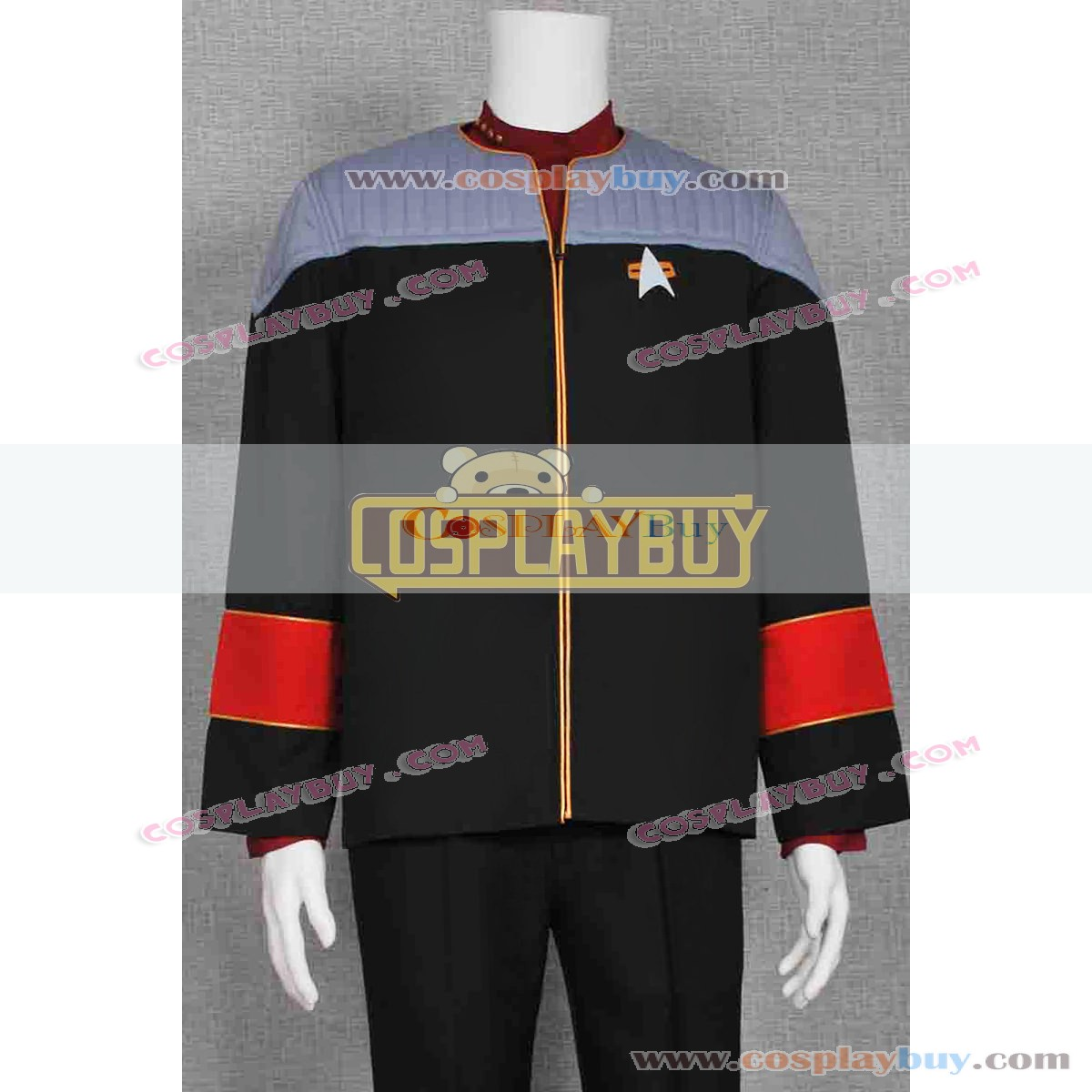Star Trek Admiral/'s Uniform Set Mens Jackets Costume