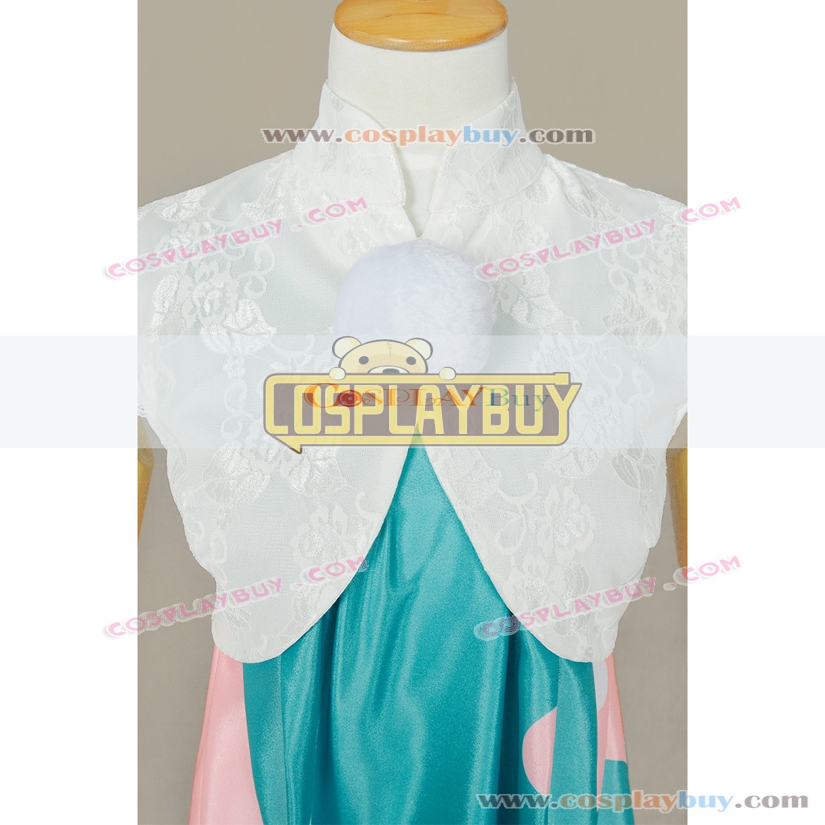 Vocaloid Cosplay Doubutsu Uranai Miku Dress