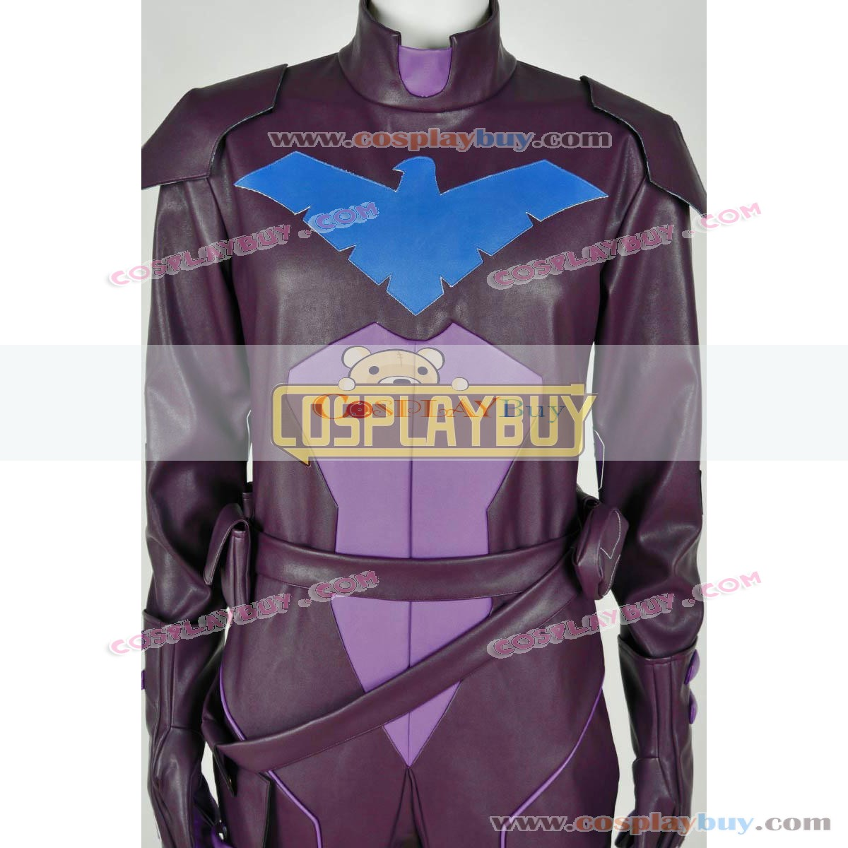8f913d2b835c Young Justice Cosplay Nightwing Costume Purple Jumpsuit. Be the first to  review this product