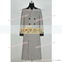 Doctor Who 4th Dr Tom Baker Brown Trench Coat