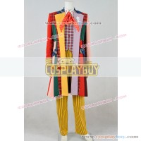 Doctor Who The 6th Colin Baker Trench Coat