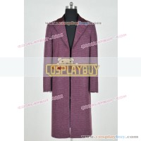 Doctor Who 11th Dr Matt Smith Costume Trench Coat New