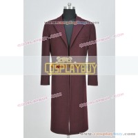 Doctor Who 11th Dr Matt Smith Trench Coat