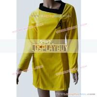 Star Trek TOS Female Gold Yellow Dress