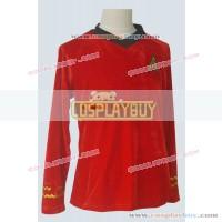 Star Trek TOS Engineering Red Velvet Shirt