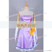 Vocaloid 2 Project Diva Cosplay Megurine Luka Purple Dress
