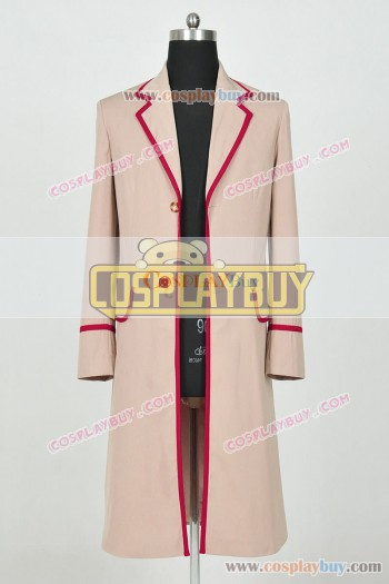 Doctor Who 5th Dr Peter Davison Trench Coat
