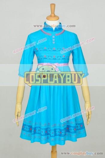 Frozen Cosplay Elsa Children Dress Blue New