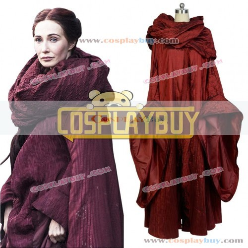 Cosplay Costume From Game of Thrones Melisandre