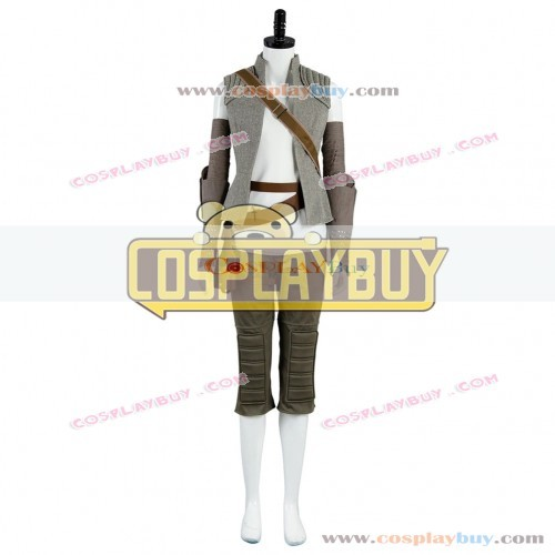 Cosplay Costume From Star Wars 8 The Last Jedi Rey