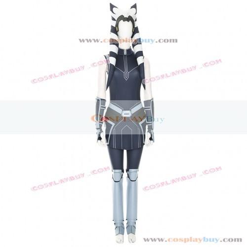 Star Wars: The Clone Wars Ahsoka Tano Cosplay Costume