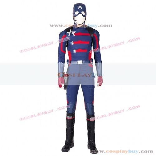 Marvel Comics Captain America Cosplay Costume
