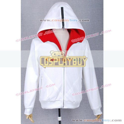 Assassins Creed Cosplay Desmond Miles White Jacket