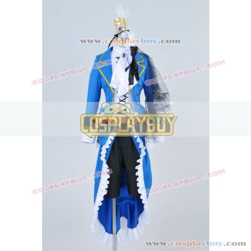 Black Butler Cosplay Ciel Phantomhive Blue Uniform