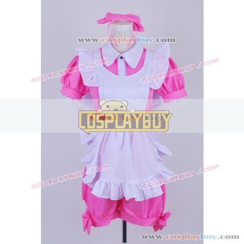 Black Butler Cosplay Alois Trancy Pink Maid Dress