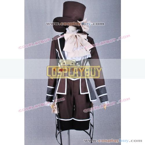 Black Butler Cosplay Ciel Phantomhive Brown Dandy Outfit