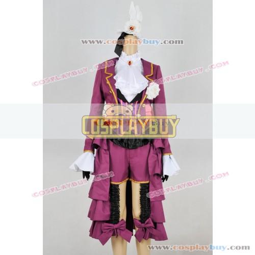 Black Butler Cosplay Alois Trancy Purple Uniform