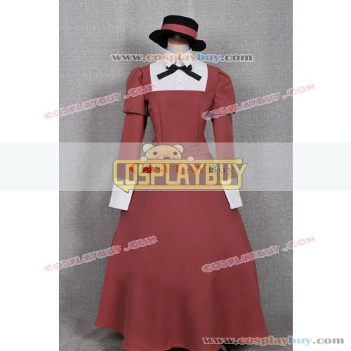 Black Butler Cosplay Mey-Rin Dress