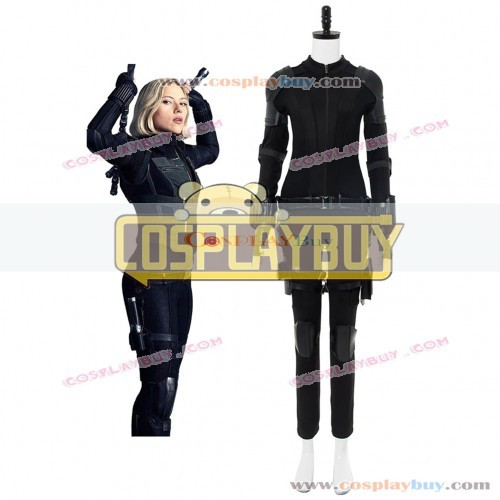 Black Widow Natasha Romanoff Cosplay Costume From Avengers 3 :Infinity War