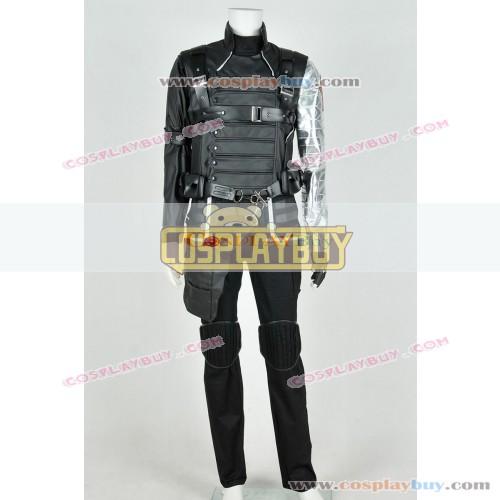 Captain America 2 Bucky Barnes Uniform