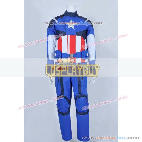 Captain America Steve Rogers Uniform