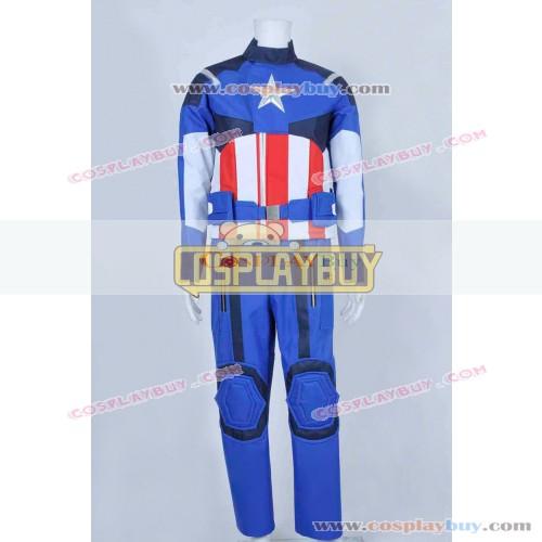 Captain America Steve Rogers Uniform