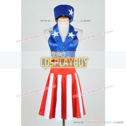 Captain America The Avengers Female Dress