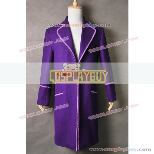 Charlie And The Chocolate Factory Willy Wonka Trench Coat