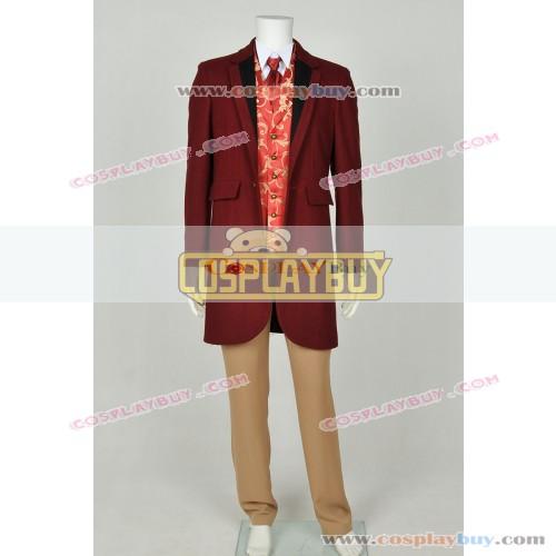 Django Unchained Costume Monsieur Calvin J Candie Trench Coat