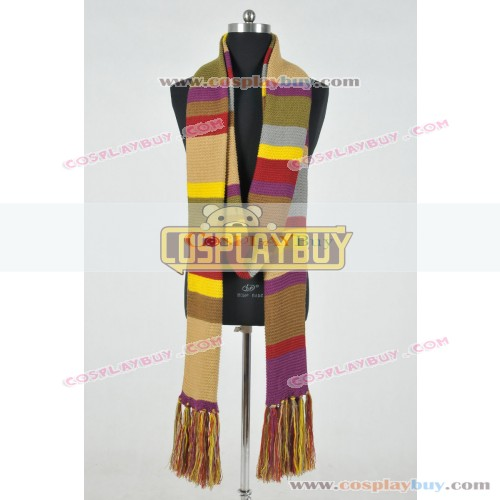 Doctor Who 4th Dr Scarf Fourth Tom Baker