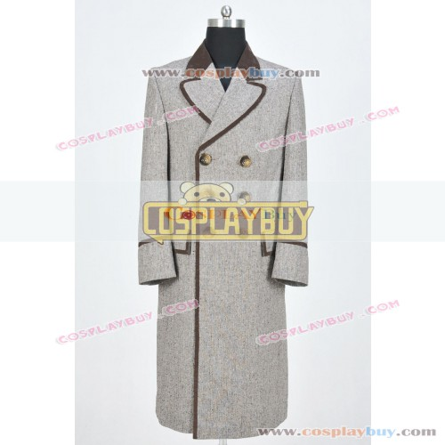 Doctor Who 4th Dr Tom Baker Wenge Brown Trench Coat