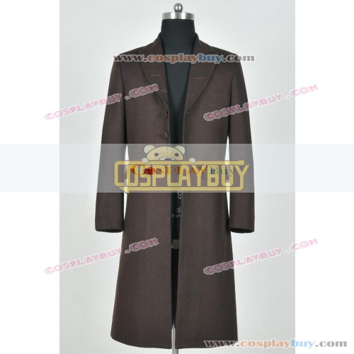 Doctor Who Tom Baker 4th Dr Trench Coat