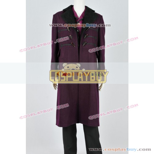 Doctor Who The 11th Purple Trench Coat Vest