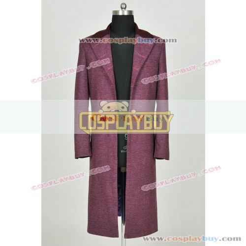 Doctor Who 11th Dr Matt Smith Costume Trench Coat
