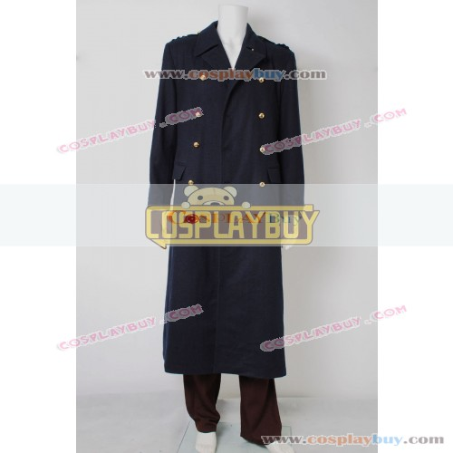 Torchwood Captain Jack Harkness Black Trench Coat