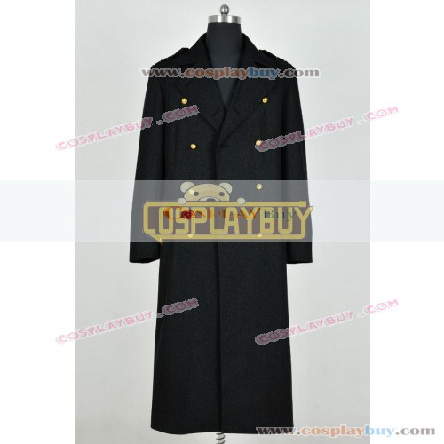 Doctor Who Jack Harkness Black Trench Coat