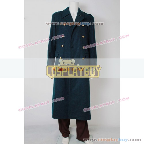 Torchwood Captain Jack Harkness Dark Blue Trench Coat