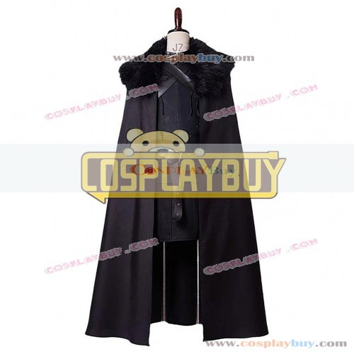 Cosplay Costume From Game of Thrones Jon Snow