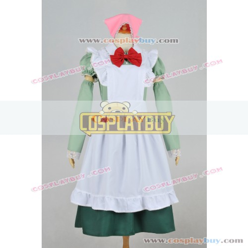 Axis Powers Hetalia Cosplay Hungary Maid Dress