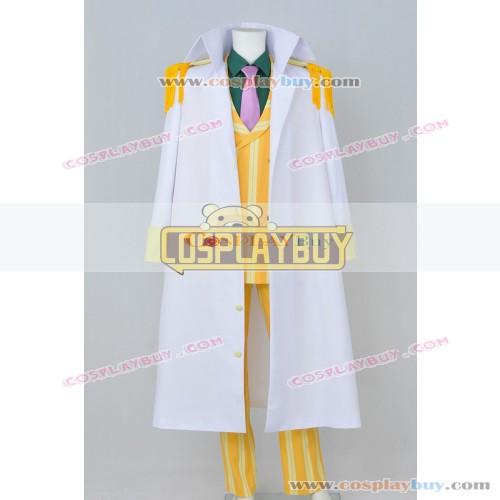 One Piece Cosplay Sakazuki Kizaru Costume