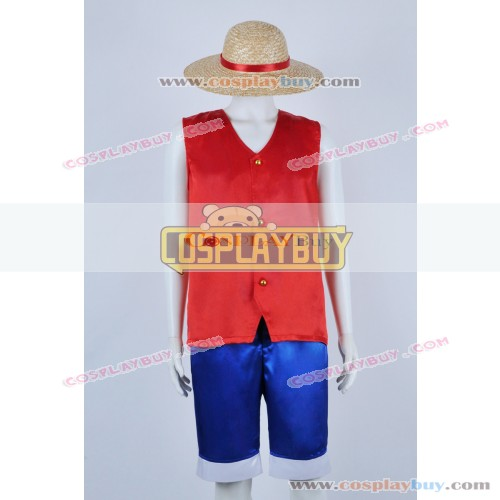 One Piece Cosplay Monkey D Luffy Costume
