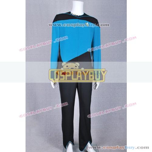 Star Trek Medical Science Teal Jumpsuit