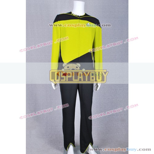 Star Trek Security Operations Duty Yellow Jumpsuit
