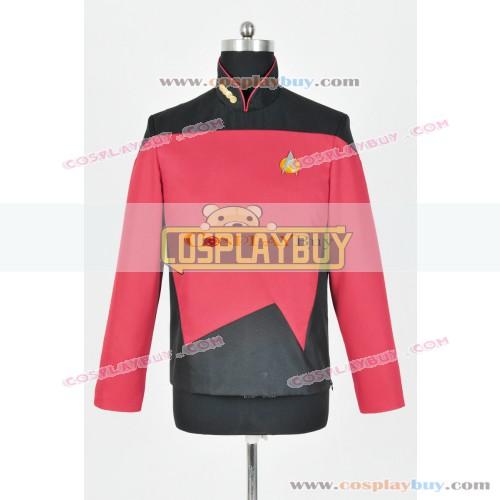 Star Trek TNG Command Uniform Red Jacket