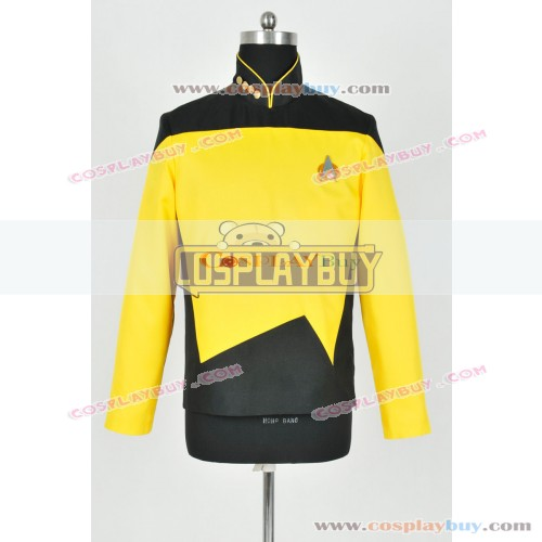 Star Trek TNG Operations Uniform Yellow Jacket