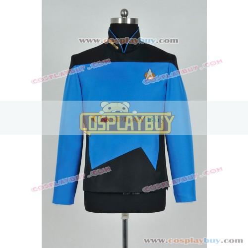 Star Trek TNG Sciences Uniform Blue Jacket